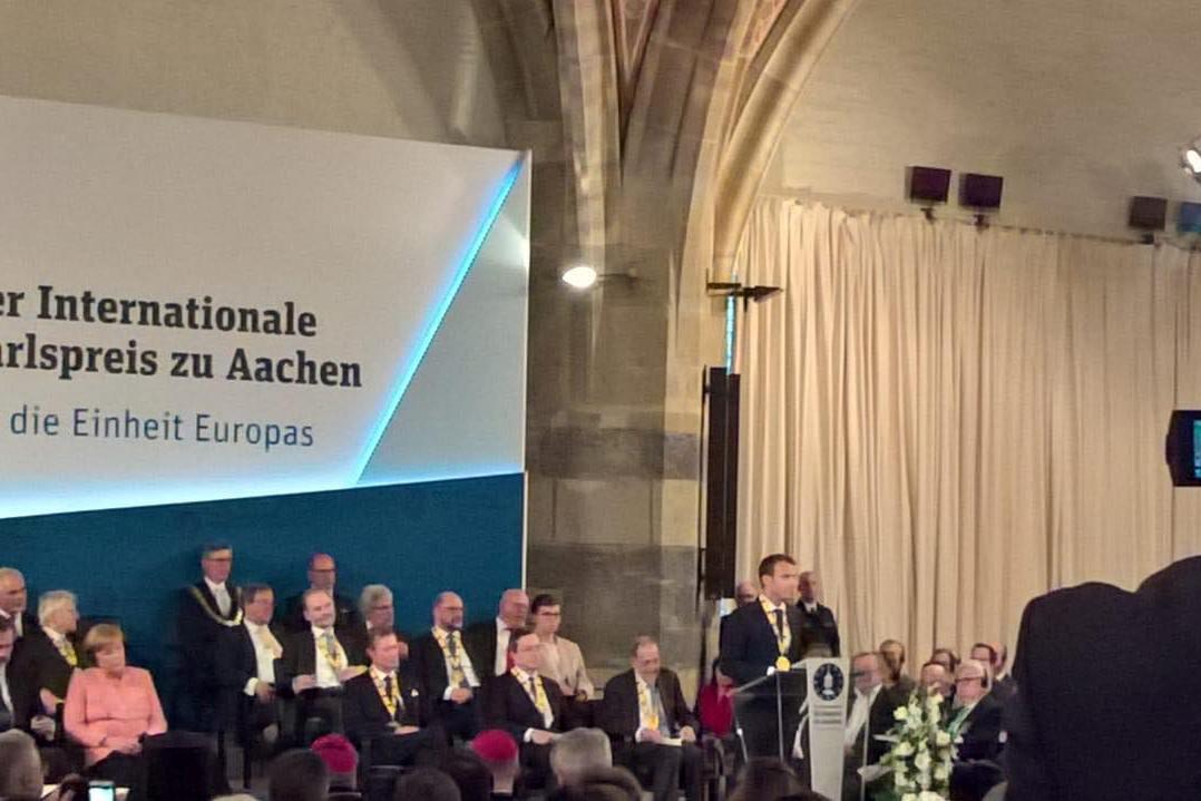 Karlspreis 2018