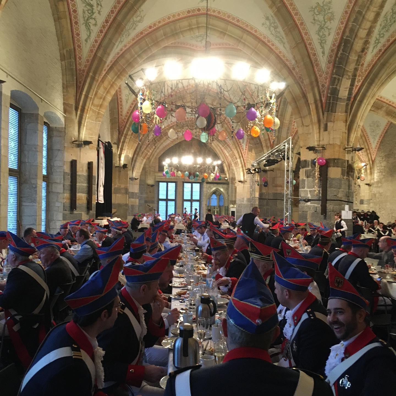 Karneval 2020 - Kommandanturfrühstück der Stadtgarde Oecher Penn
