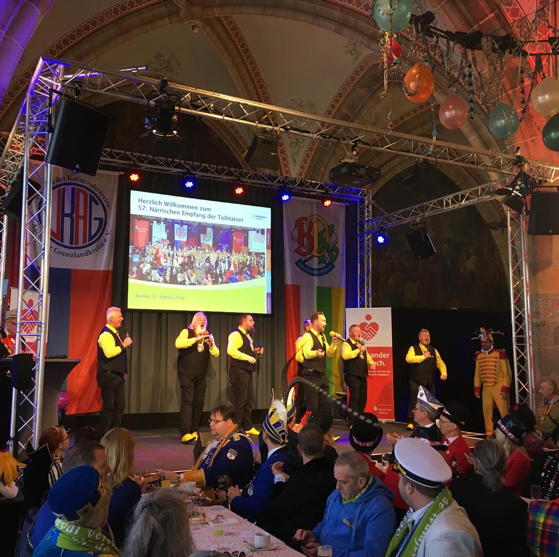 Karneval 2020 - Närrischer Empfang der Tollitäten der StädteRegion Aachen