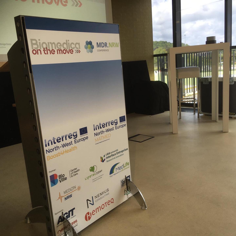 """Biomedica on the move"" und ""MDR-Conferenz.NRW"""