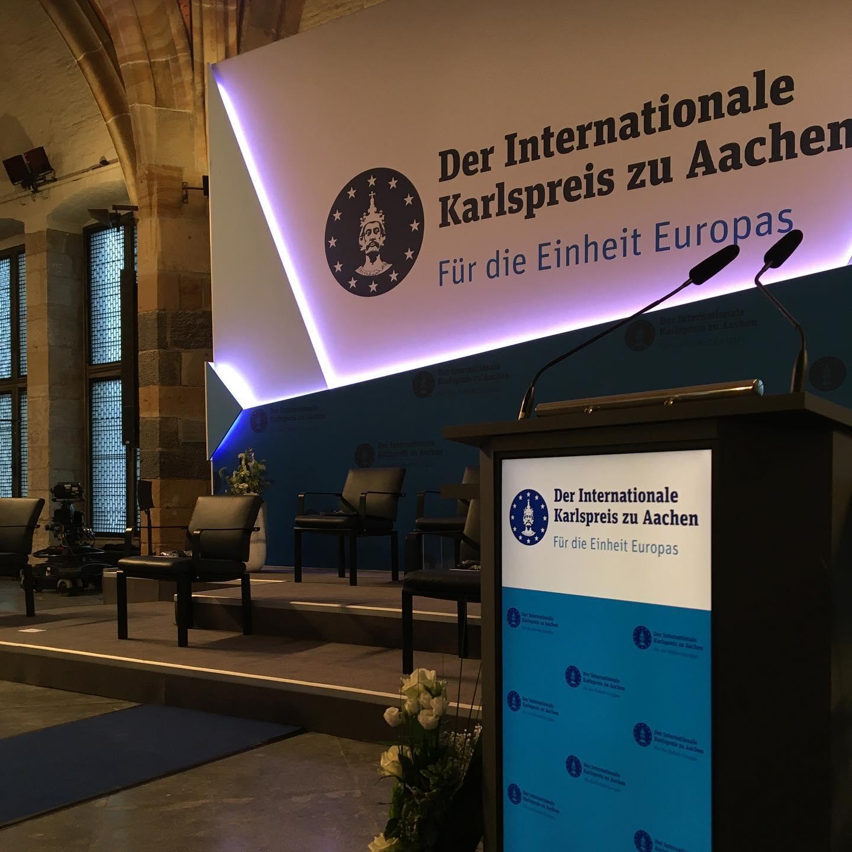 Internationaler Karlspreis zu Aachen 2020/2021