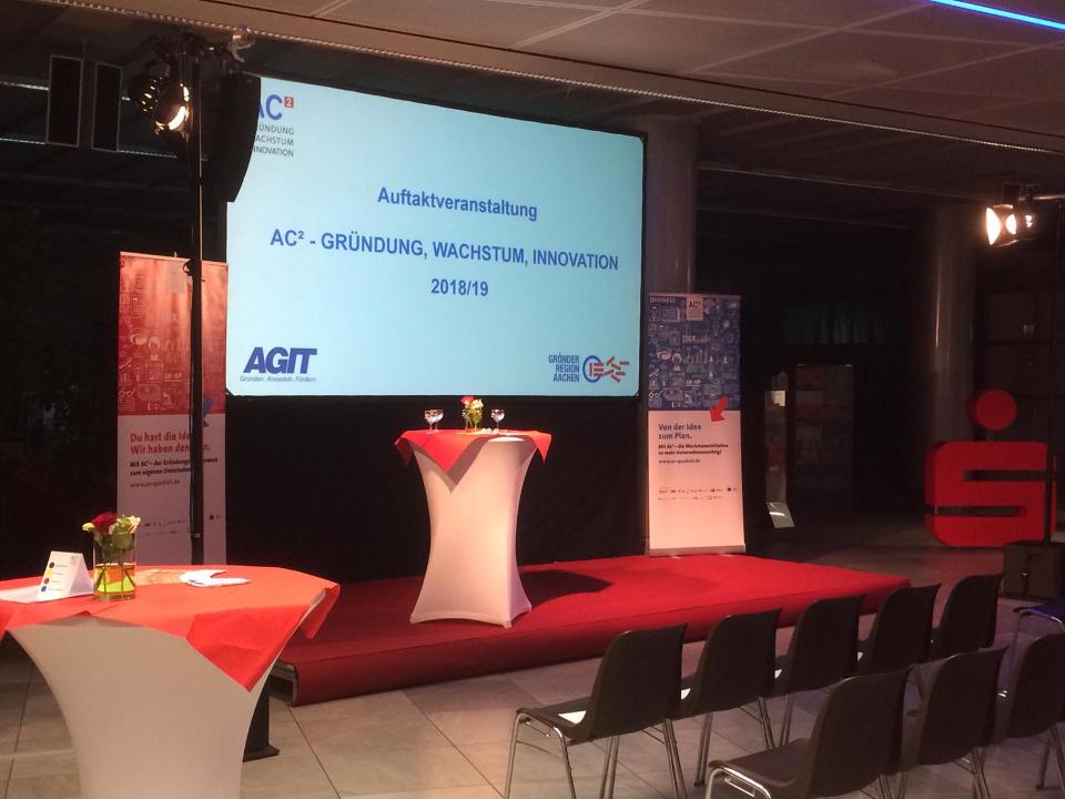 Auftaktveranstaltung des AC² Gründungswettbewerbs 2018/19