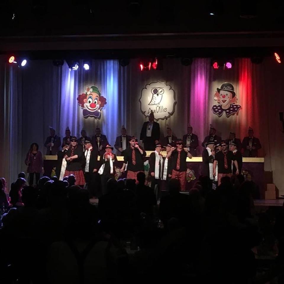 Kostümsitzung der KG Au Ülle Würselen 2019