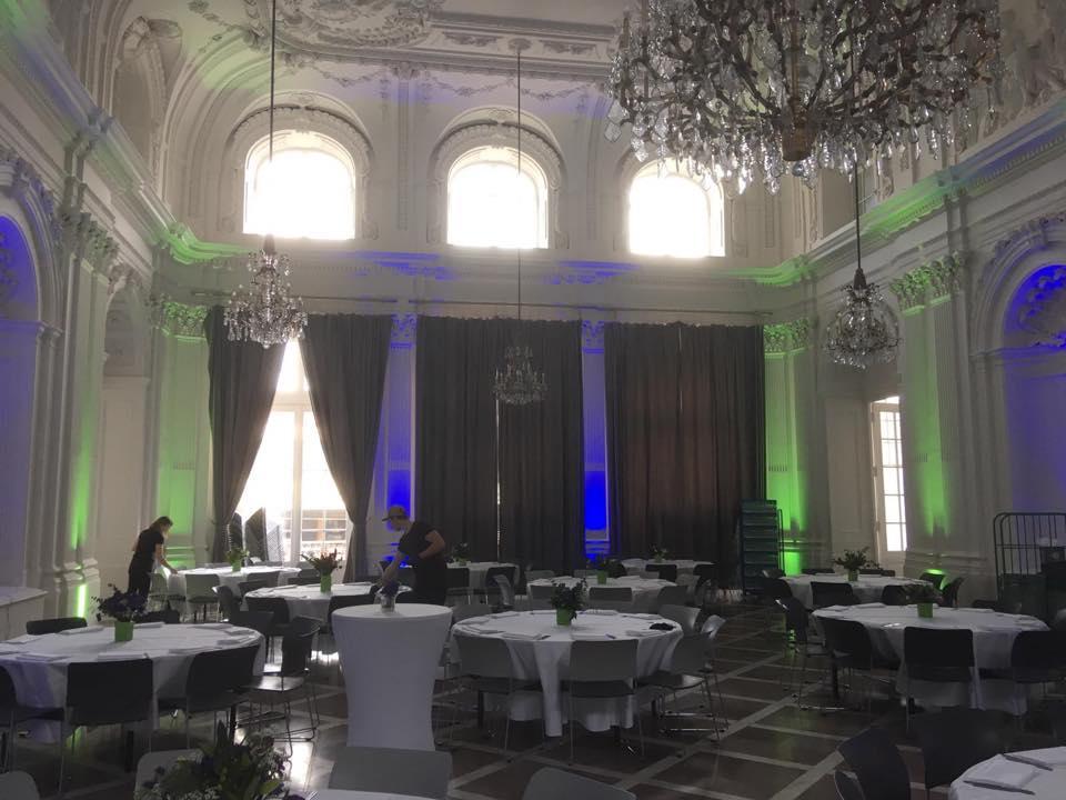 Abenddinner zum 5. UKP - Workshop im Ballsaal des Alten Kurhauses