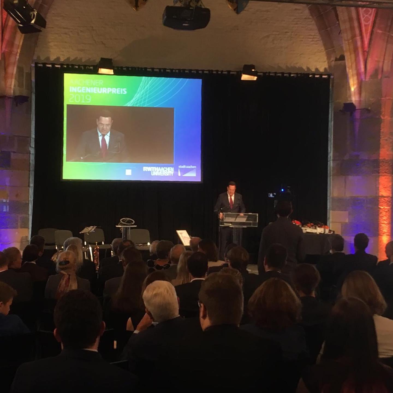 Verleihung des Aachener Ingenieurpreis 2019