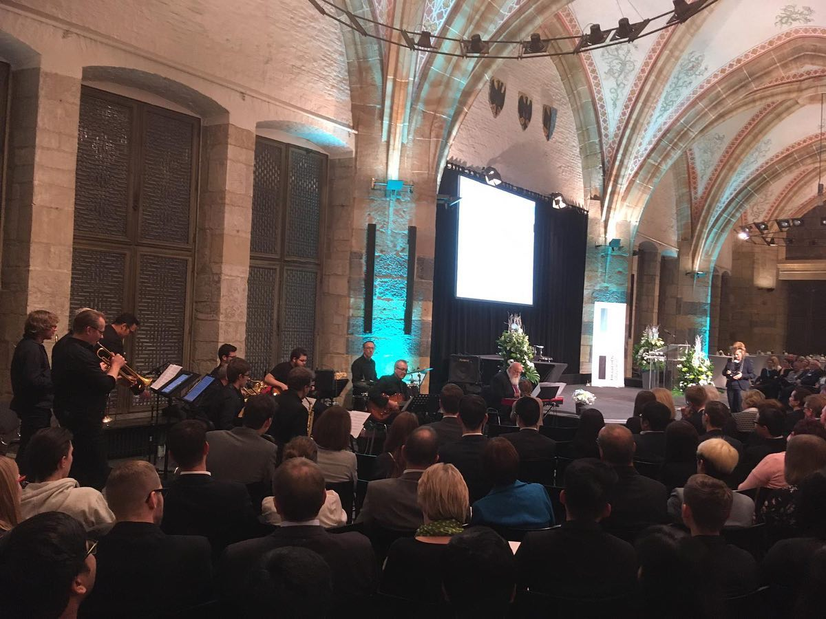 Jubiläums-Stipendienfeier der FH Aachen im Krönungssaal mit der FH Big Band FULL HOUSE