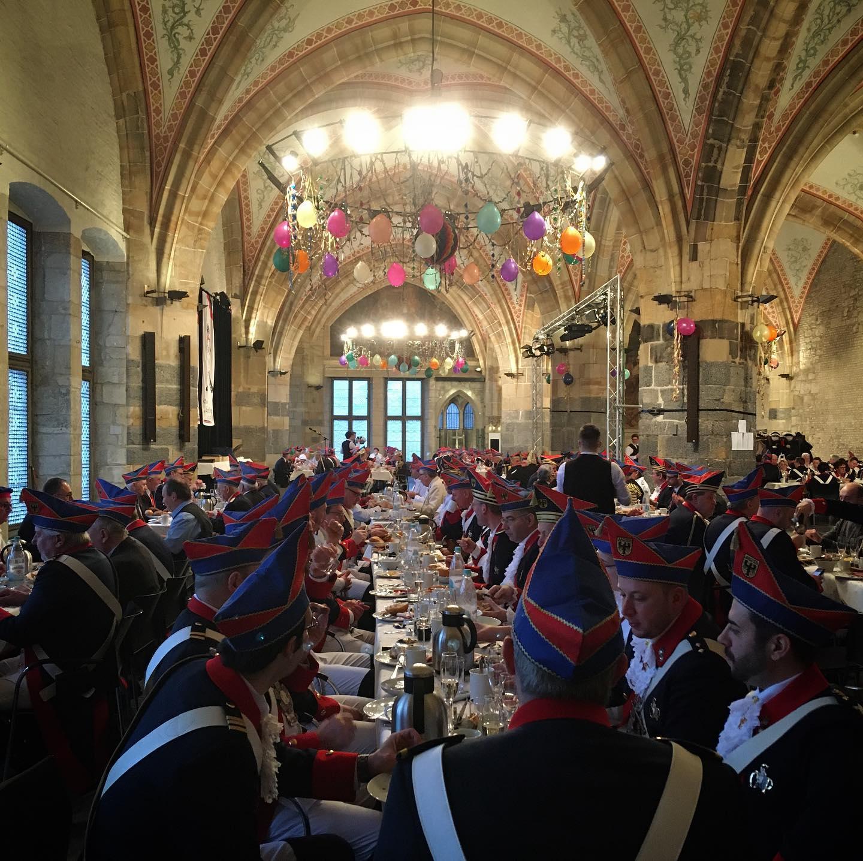 Kommandanturfrühstück der Stadtgarde Oecher Penn