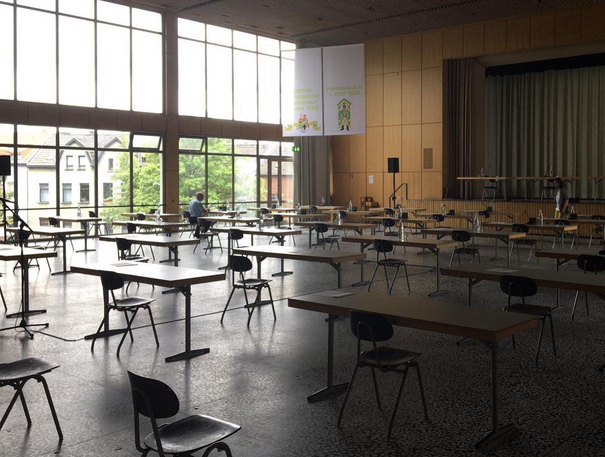 Ratssitzung der Stadt Würselen
