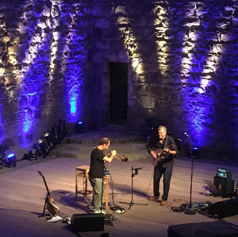Joo Kraus & Kosho auf der Burg Wilhelmstein