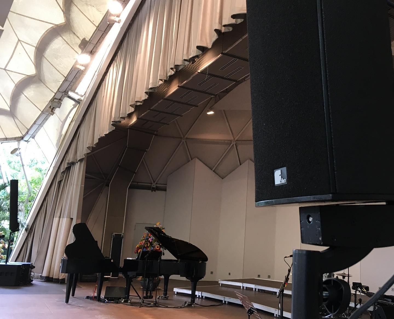Oliver Schmitt & Band im Musikpavillon im Grugapark in Essen